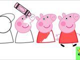 Easy Way to Draw Peppa Pig Como Dibujar A Peppa Pig Paso A Paso How to Draw A toyscookie A O