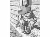 Easy Western Drawings Small Wonders Pencil Drawings Cowboy Art Western Art