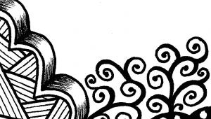 Easy Zen Drawings Creative Crafting How to Zen Doodle Zen Tangle Inspirations