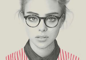 Eyeglasses Drawing Amazing Pencil Drawings Of Fashion Girls by Kei Meguro Things I