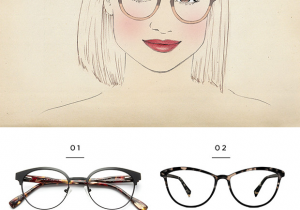Eyeglasses Drawing the Best Glasses for All Face Shapes Verily Style Inspiration