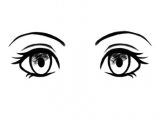 Eyes Drawing Png Manga and Anime Eyes Example Of Eye Drawing Pinterest Cat Eyes