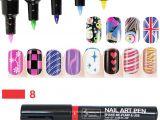 Eyes Nails Drawing 16 Colors Nail Art Pen Painting Design tool Dot Drawing Uv Gel