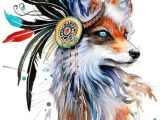 F Drawing Size Simple yet Beautiful Fancy Feathered Fox Painting Available In