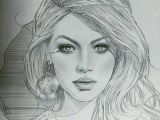Female Face Drawing Images Easy Pin by Pamela On Portraits Pencil Art Pencil Drawings