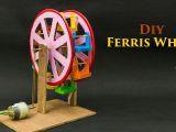 Ferris Wheel Drawing Easy Ferris Wheel Powered by Dc Motor Craft Activities for Kids