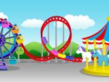 Ferris Wheel Drawing Easy Illustrations Drawings Amusement Parks Charming Amusement