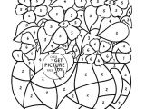 Flowers Drawing Circle Floral Coloring Pages Unique Vases Flower Vase Coloring Page Pages