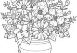 Flowers Drawing Decoration Lovely Cool Vases Flower Vase Coloring Page Pages Flowers In A top I