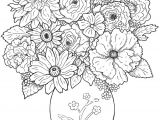 Flowers Drawing for Colouring Www Colouring Pages Aua Ergewohnliche Cool Vases Flower Vase Coloring