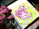 Flowers Drawing Manga Drawing Anime Pattern Mandala Creative Handmade Art Cute