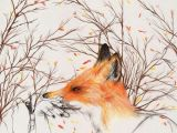 Fox Drawing Tumblr Tumblr Art Inspired Pinterest Art Fox Art and Illustration