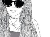 G Girl Drawing 65 Best Drawings Black White Images Girl Drawings Tumblr