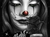 Gangster Clown Girl Drawings Pinterest