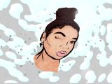Get A Cartoon Drawing Of Yourself How to Animated Beauty Guru Intro Read Description Youtube