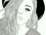 Girl Black and White Drawing Pin Od Poua A Vatea A Kikua Ka 4444 Na Nastenke Marsmallow