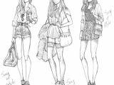 Girl Clothes Drawing Drawing Girl Style Zeichnungen Zeichnungsskizzen Und