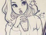 Girl Drawing Face Cute Girl A I Cute Drawings Pencil Art Drawings Sketches