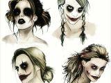 Girl Drawing Harley Quinn Harley Quinn Designs by Rachelisnotdead On We Heart It