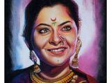 Girl Drawing Rangoli 28 Best Portrait Rangolis Art Images Art Studios Artist Studios