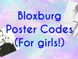 Girl Drawing Roblox Decal Roblox Bloxburg Poster Codes for Girls Youtube