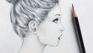 Girl Drawing Side View Easy Side View Of A Girl Drawing References In 2019 Pinterest