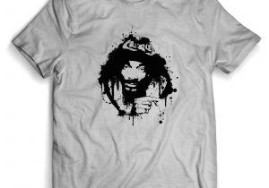 Girl In Shirt Drawing Snoop Dogg Art Drawing Man Woman T Shirt Hilarious T Shirts