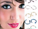 Girl with Nose Ring Drawing 2019 Nose Rings Body Art Piercing Jewelry Fashion Jewelry Stainless