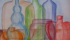 Glass Drawing Easy Quick and Easy Way to Draw Glass Middle School Art