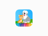 Goldendoodle Drawing Easy Dog Cat Coloring Book Animal Drawing for Kids Free Game