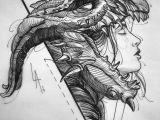 Good Drawings Of Dragons Drawing Dragons Artwork Art Drawings Ink Pencils In 2019