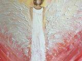 Guardian Angel Drawing Easy original Guardian Angel Canvas Painting by Joyfulwhimsyart