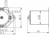 H Size Drawing Dimensions Dfr0523 Dfrobot Hersteller Bastler Ausbildung Digikey