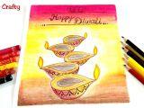 Happy Diwali Drawing Easy Easy Diwali Drawing Diwali Diya Drawing How to Draw Diwali Drawing Artyandcrafty