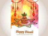Happy Diwali Drawing Easy Watercolor Diwali Poster Diwali Poster Diwali Drawing