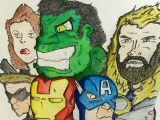Hawkeye Drawing Avengers Fan Art Hulk Captain America Hawkeye Iron Man Black