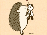 Hedgehog Drawing Easy 1276 A A I Want to Kiss You