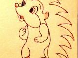 Hedgehog Drawing Easy Drawing Of Hedgehog Google Search Tattoos Hedgehog