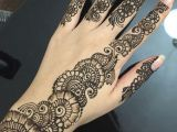 Henna Drawings Easy Simple Floral Henna Design with Finger Details A I Henna