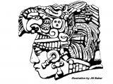 History Drawings Easy Images for Simple Mayan Drawings Aztec Art Mayan