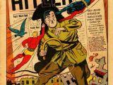 Hitler Drawing Easy Daredevil Battles Hitler Comic Book Images Comics Comic