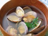 How to Draw A Clam Shell Easy Japanese Clam soup asari No Sumashijiru