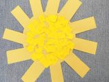 How to Draw A Easy Sun Sunshine Crafts for Kids Super Cute Happy Little Sunshine