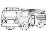 How to Draw A Fire Truck Easy This Fire Truck Ready to Paint Suncatcher is An Easy and Fun