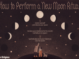 How to Draw A Full Moon Step by Step Easy New Moon Rituals for Manifestation