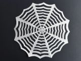 How to Draw A Spider Web Easy How to Make Paper Spiderwebs Kinder Basteln Diy Halloween