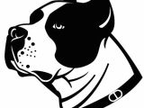 How to Draw A Staffy Dog Easy Dog Vector Illustration A C Dog Vector Dog Stencil
