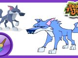 How to Draw A Wolf On Animal Jam Sketch Jam How to Draw A Wolf