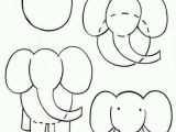How to Draw An Elephant Step by Step Easy How to Draw Cartoon Elephant Animals Drawings Animal