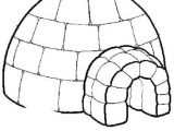 How to Draw An Igloo Easy Ment Dessiner Un Igloo